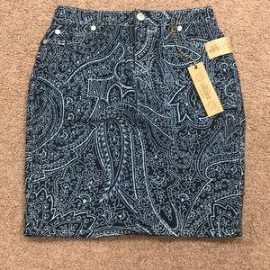 Nine West Denim Skirt